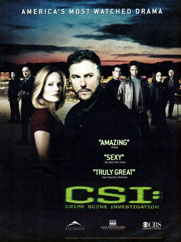 C.S.I. Место преступления сериал (2000)